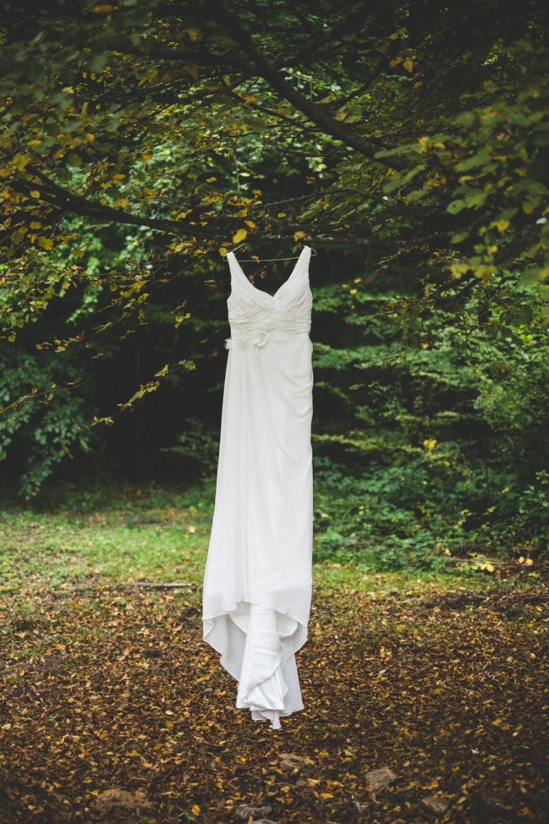 Robe de mariee apres mariage for Shooting photo exterieur foret