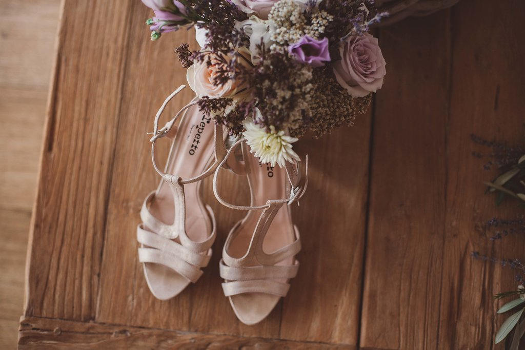 mariage champetre chic domaine sainte colombe